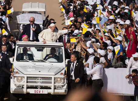 Pope Francis in the UAE