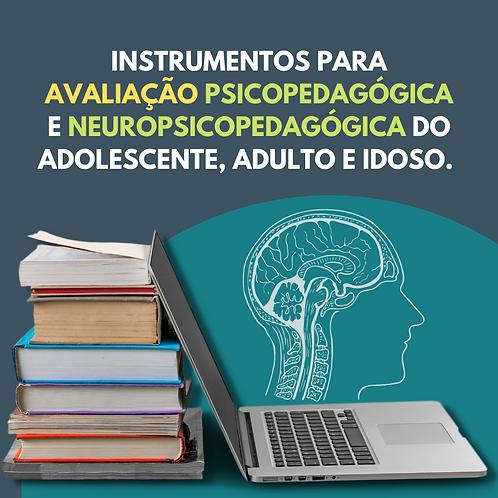 TESTES PARA ADOLESCENTES, ADULTOS E IDOSOS