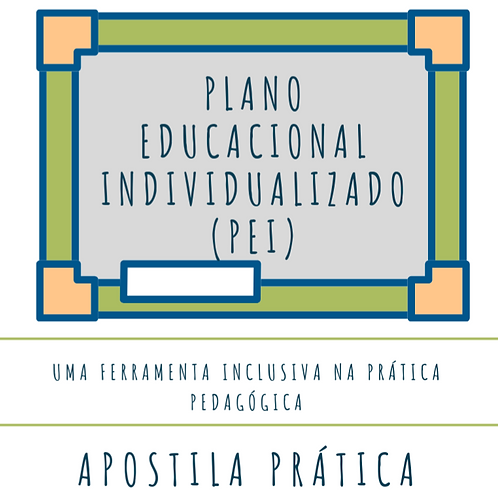 PLANO EDUCACIONAL INDIVIDUALIZADO (PEI)
