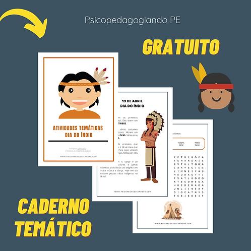 DIA DO ÍNDIO - ATIVIDADES (GRATUITO)