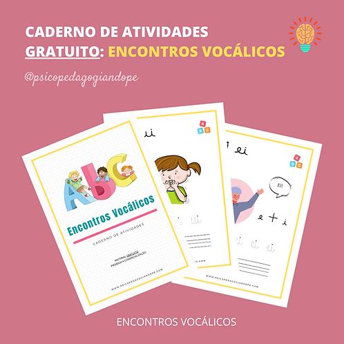 ENCONTROS VOCÁLICOS (CADERNO GRATUITO)