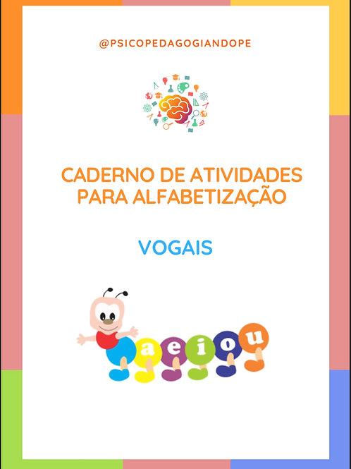 VOGAIS - CADERNO DE ATIVIDADES
