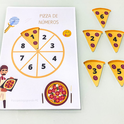 COMPLETE A PIZZA