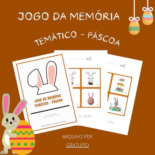 JOGO DA MEMÓRIA - PÁSCOA (GRATUITO)