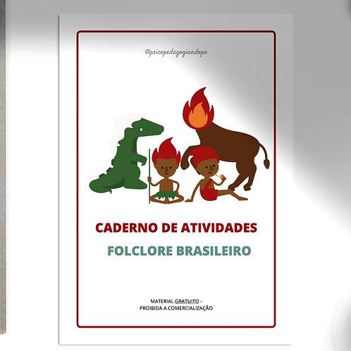 FOLCLORE: CADERNO DE ATIVIDADES GRATUITO