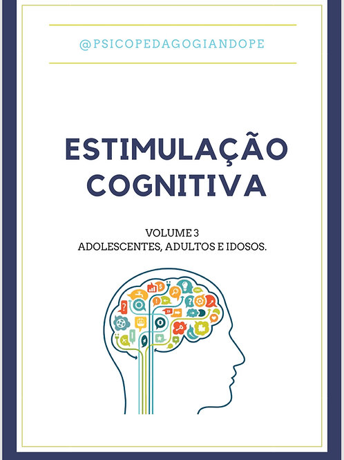 ESTIMULAÇÃO COGNITIVA VOLUME 3