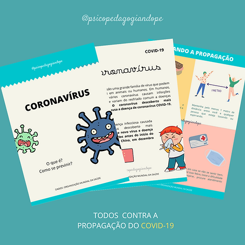CORONAVÍRUS - CARTILHA INFORMATIVA