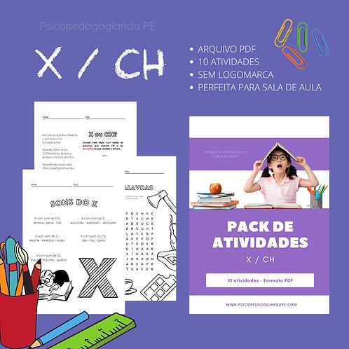 X/CH - PACK DE ATIVIDADES