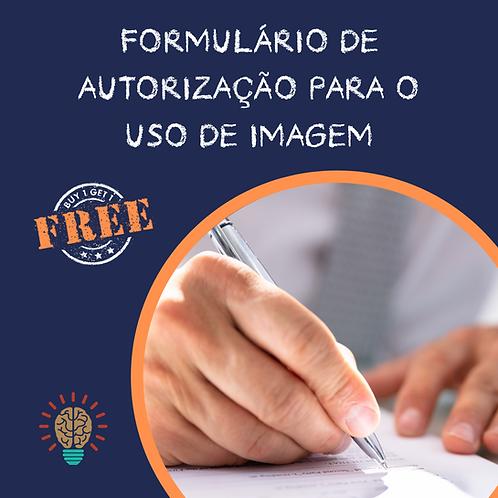 FORMULÁRIO DE AUTORIZAÇÃO PARA O USO DE IMAGEM