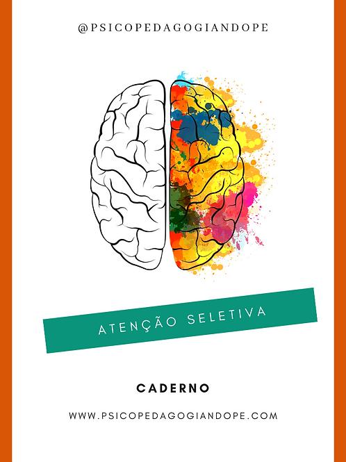 ATENÇÃO SELETIVA - CADERNO