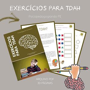 EXERCÍCIOS PARA TDAH