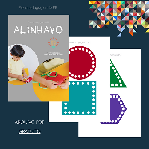 ALINHAVO - FORMAS (GRATUITO)