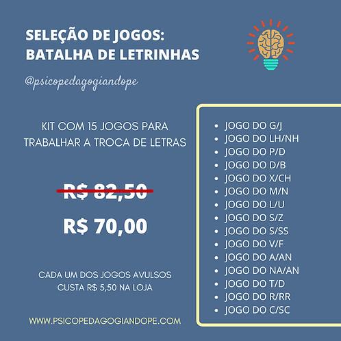 SELEÇÃO: BATALHA DE LETRINHAS