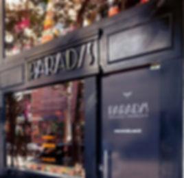 Fachada loja Paradis São Paulo