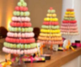 Torre de macarons Paradis