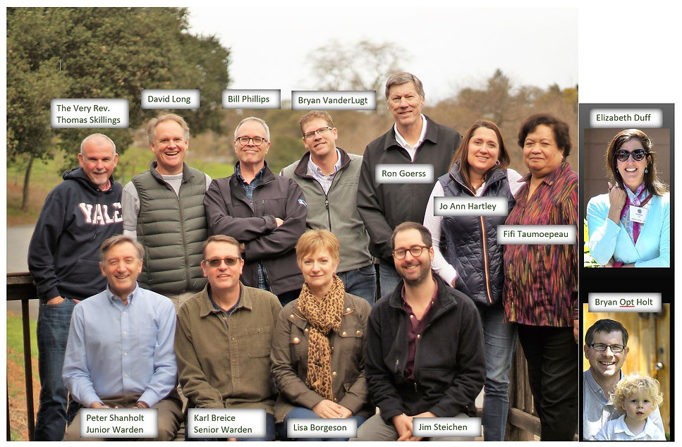 2018 Vestry Photo with Captioned Names.J