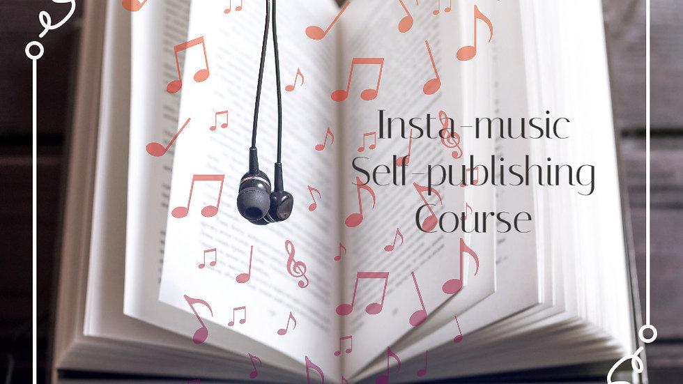 インスタミュージック出版コース 一括払い(ヒーリングミュージシャン養成講座)