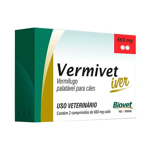 Vermivet Iver 660mg 2 comp