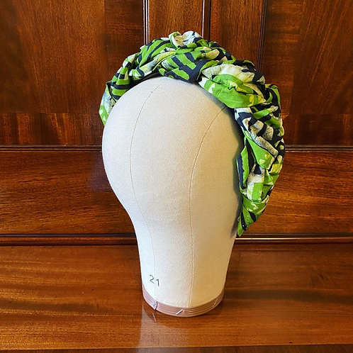 Batik Braided Headband