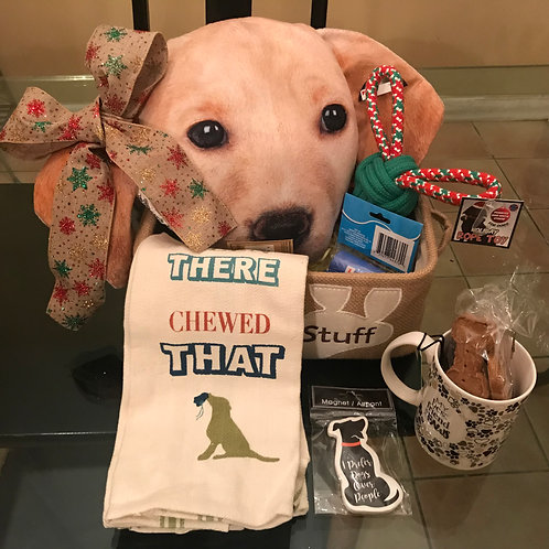 Gift Basket for Your Pup - Medium