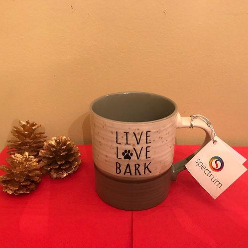 Live Love Bark - Ceramic Mug