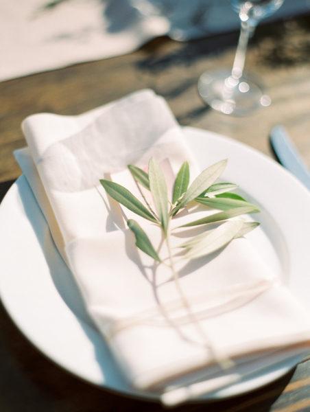 olive branch centerpiece
