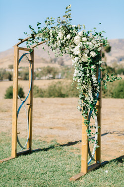 Handcrafted Ceremony Arch