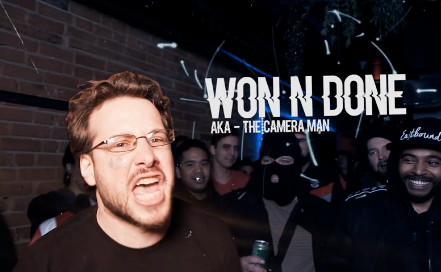 For the first time Sean steps into a battle rap ring after almost a decade of filming it.