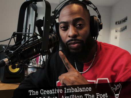 Episode 104 featuring Amillion The Poet