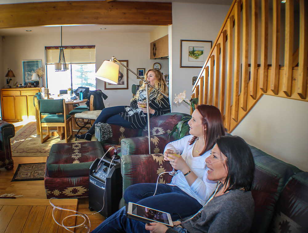 Treating alttiude sickness with oxygen therapy in Breckenridge CO