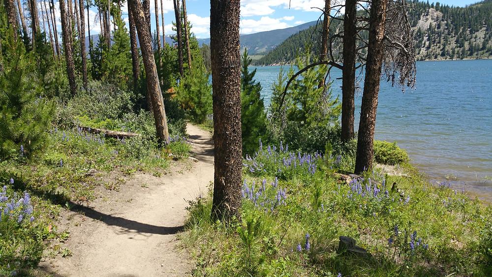 Breckenridge Trail near Lake Dillon Breckenridge oxygen delivery Breckenridge oxygen