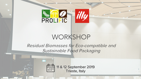 """PROLIFIC organizes """"Residual Biomasses for Eco-compatible and Sustainable Food Packaging"""" workshop"""