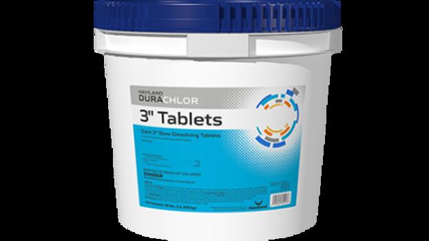 "DuraChlor 3"" Chlorine Tablets 10 lb"