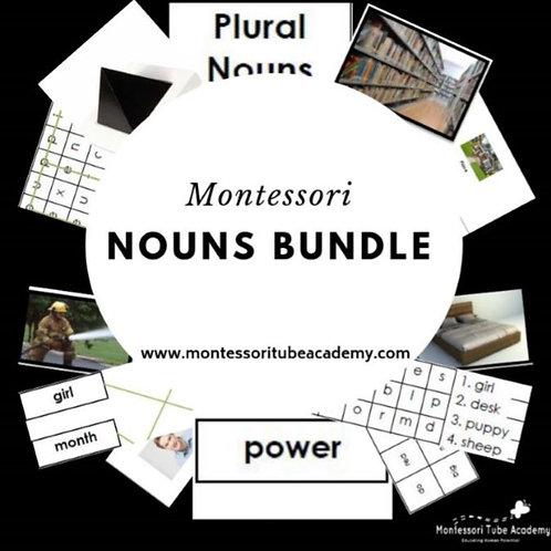 Montessori Nouns Bundle