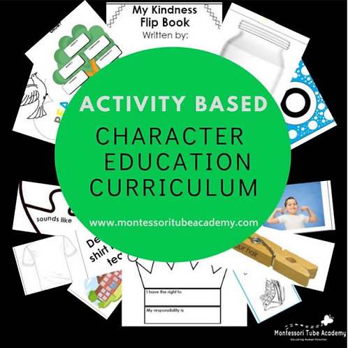 Character Education Activity Based Curriculum