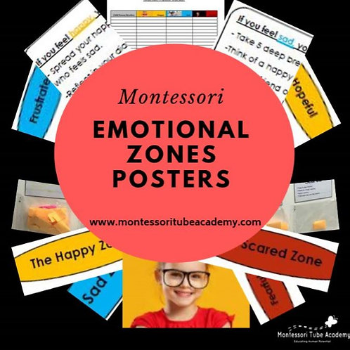 Emotional Zones Posters