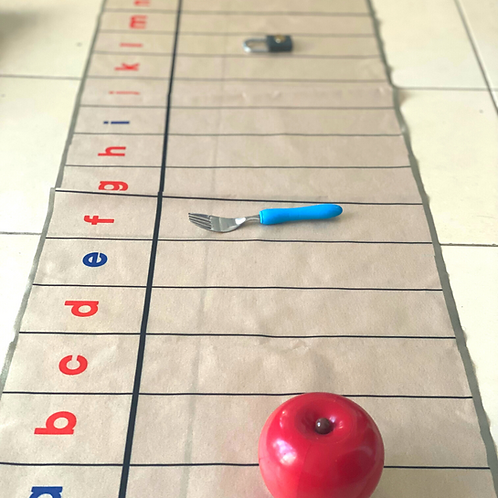 Montessori A-Z Phonics sounds mat