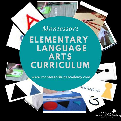 Elementary Language and Grammar curriculum