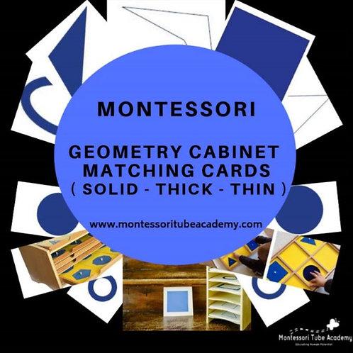 Montessori Geometry Cabinet Activities
