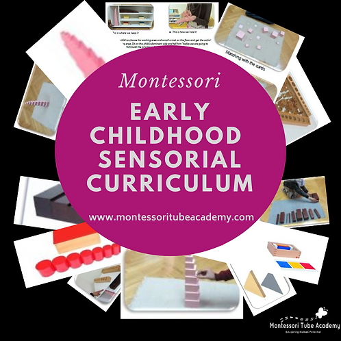 Early Childhood Sensorial Curriculum
