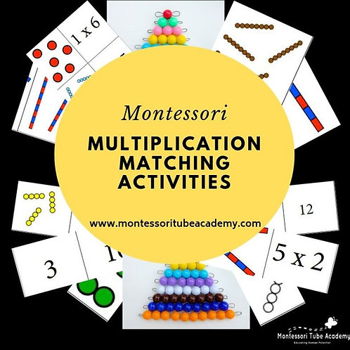 Multiplication Matching Activities