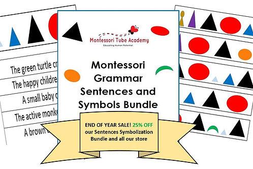 Grammar Sentences Symbolization Bundle