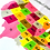 Thumbnail: US Map Satin Mat with States, capitals, and flags