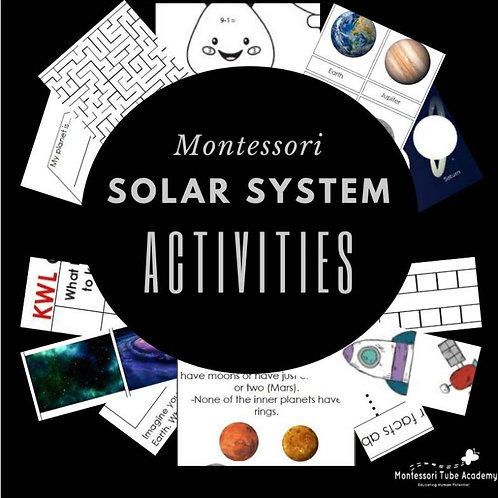 Solar System Pack + Booklet
