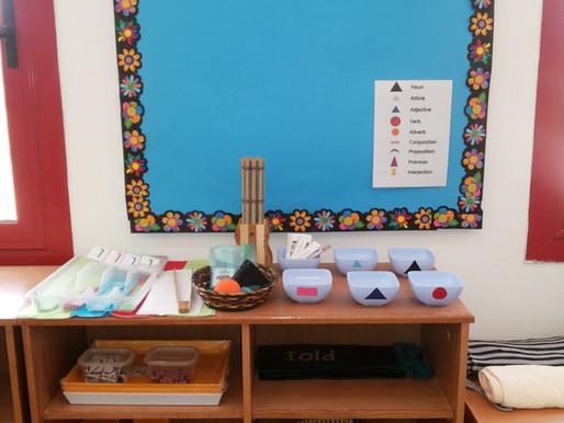 Our First Montessori Shelf!