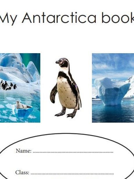 Antarctica Child's booklet