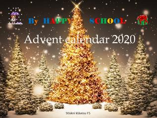 Adventní kalendář Happy School v angličtině
