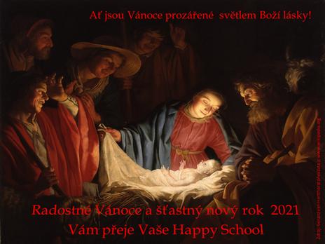 Přejeme Vám radostné Vánoce a šťastný nový rok!