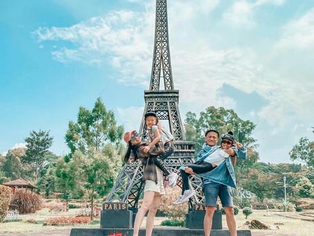 Merapi Park Yogyakarta, a World Landmark Miniature Themed Tourist Destination