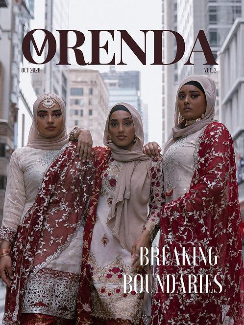 ORENDA MAGAZINE VOL. 2 Issue #1